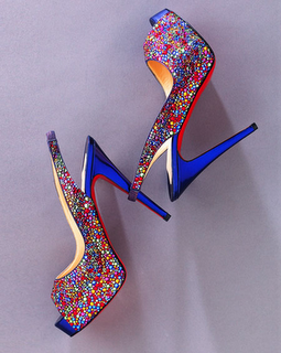 Louboutin Jeweld Pumps pair